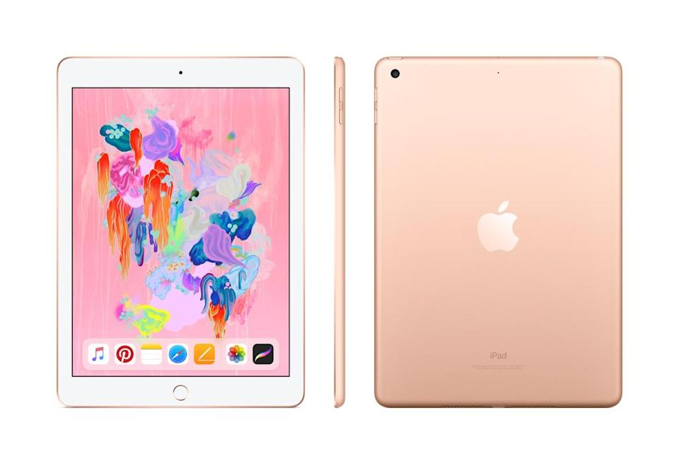 Apple iPad (5th Generation) 128GB Wi-Fi Gold. (Photo: Walmart)