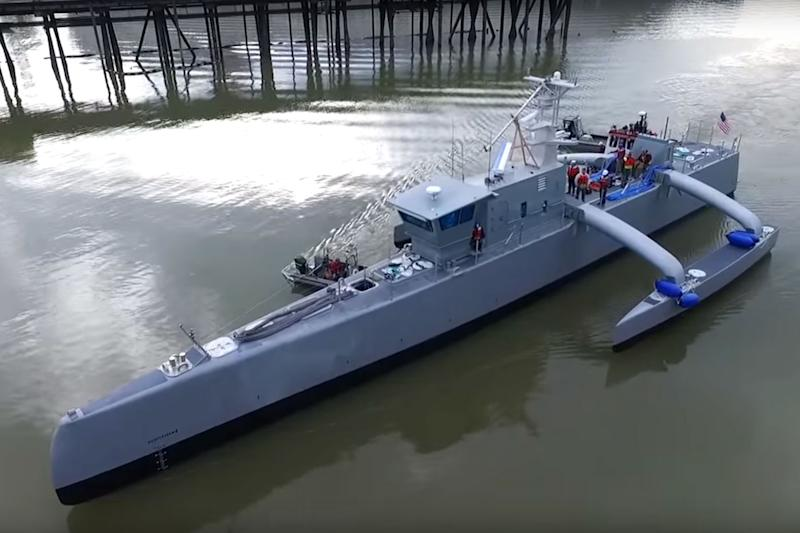 U S  Navy's sub-hunting drone ships will hit the open ocean
