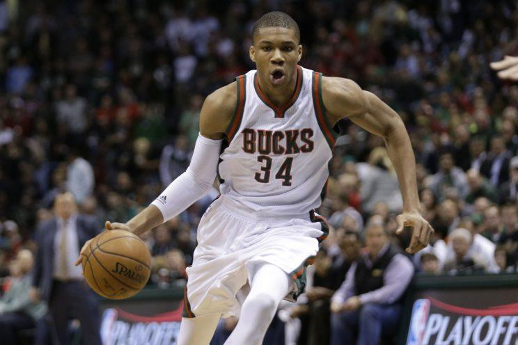 Giannis Antetokounmpo, 21, is nowhere close to fulfilling his potential. (Getty)