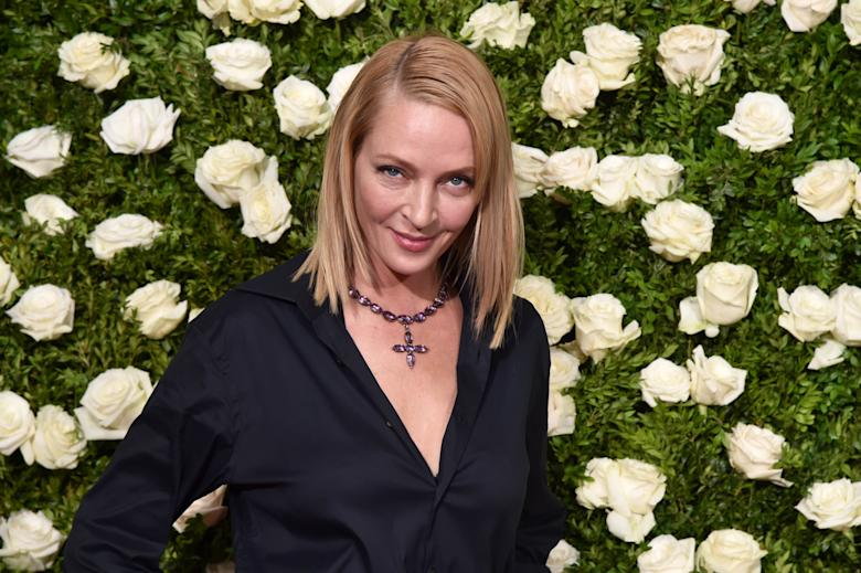 Uma Thurman emotionally explains her silence over the Harvey Weinstein allegations