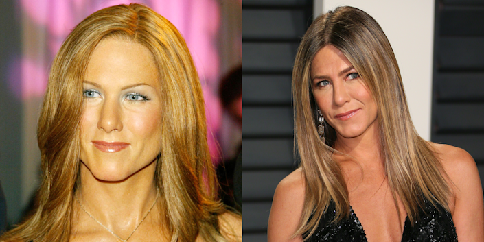 <p>Wax Jennifer Aniston is what happens to your skin when you stop drinking Smartwater and don't apply your Aveeno nightly. </p>
