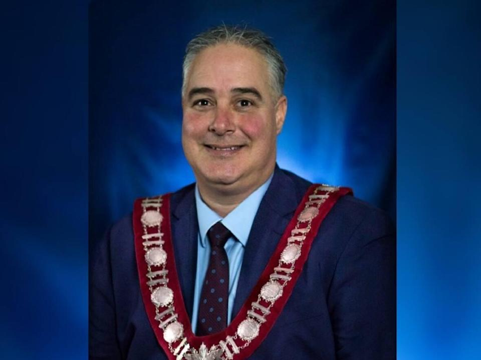Jason Baker has stepped down as the mayor of Brockville, Ont., after 'unknowingly' disqualifying himself from the position by moving to a home outside the city. (City of Brockville - image credit)