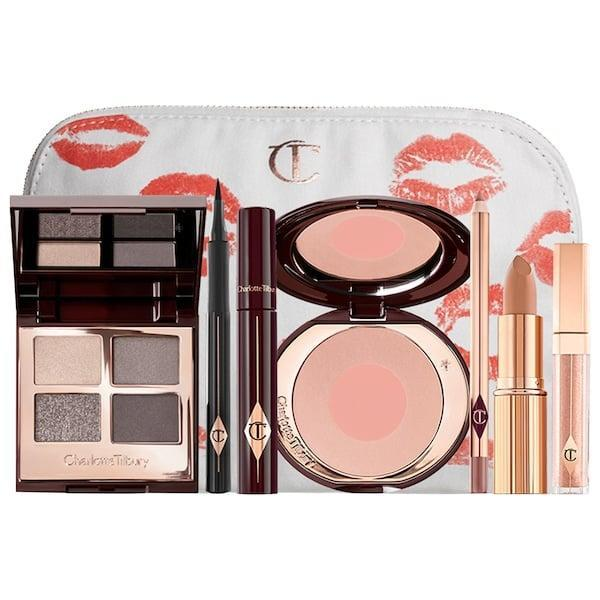 <p>This <span>Charlotte Tilbury The Rock Chick Look Set</span> ($220) has everything needed for a smoky-eyed rocker look, from shades-of-gray shadows and bold black mascara and eyeliner to soft, subtle hues for cheeks and lips, too.</p>