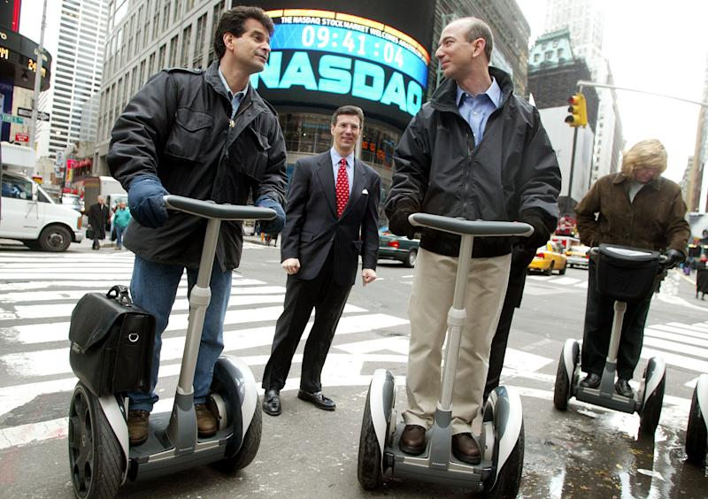FILE PHOTO - Segway Recalls All Its Human Transporters