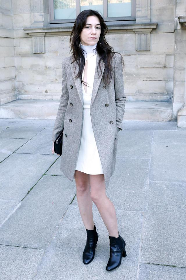 <p>Chicness runs in the family. Actress and singer Charlotte Gainsbourg is the daughter of Jane Birkin. (Photo: Getty Images) </p>