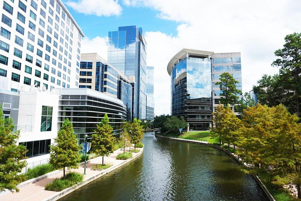 The Waterway at The Woodlands, Texas