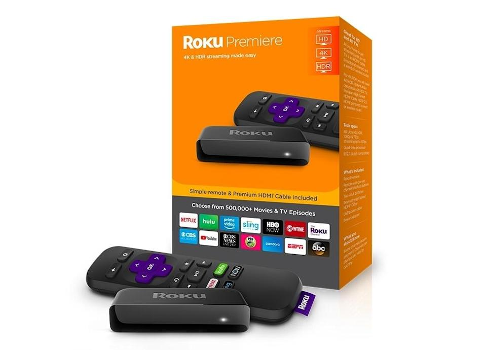 Roku Premiere+ 4K Streaming Player (Photo via Roku)