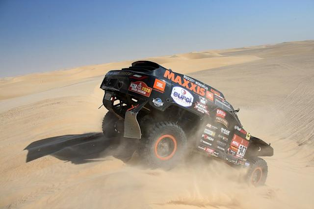 "#347 Jefferies e Maxxis Dakar Team: Tim Coronel, Tom Coronel <span class=""copyright"">Tom Coronel</span>"