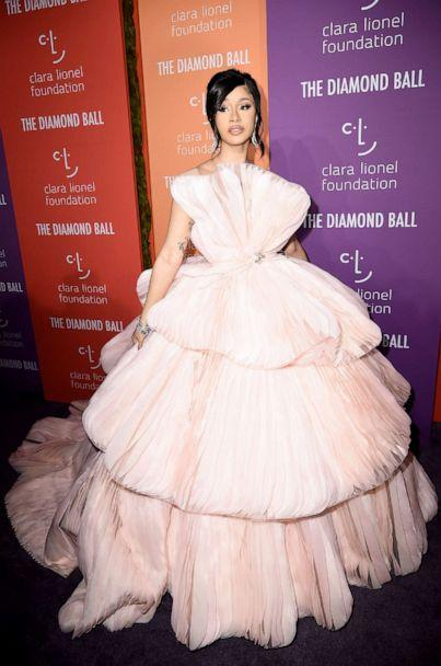 PHOTO: Cardi B attends Rihanna's 5th Annual Diamond Ball at Cipriani Wall Street, Sept. 12, 2019, in New York City. (Steven Ferdman/Getty Images)