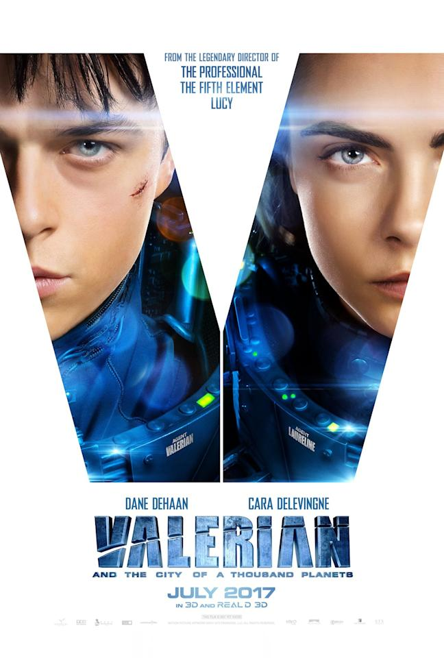 <p>Luc Besson's sci-fi thriller 'Valerian and the City of a Thousand Planets' stars Dane DeHaan and Cara Delevingne (EuropaCorp) </p>