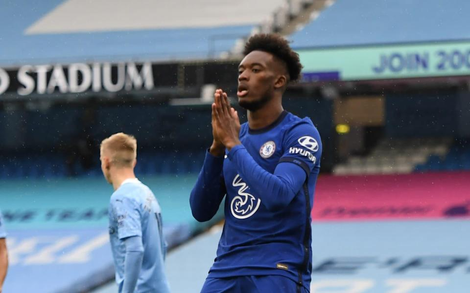 Callum Hudson-Odoi plays as a winger for Chelsea FC - Andy Hooper