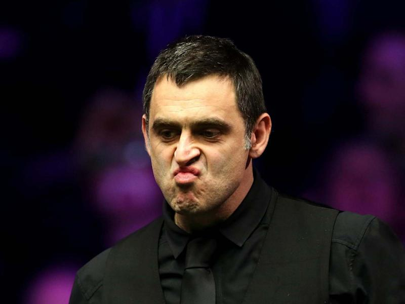 Ronnie O'Sullivan crashed out of the tournament with a defeat by Stuart Bingham: Getty