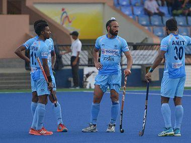 File image of Indian hockey players in action at the Sultan Azlan Shah Cup. Image Courtesy: Official Facebook page of The Hockey India