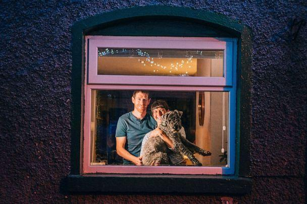 PHOTO: Irish photographer Ruth Medjber made family portraits during the Covid-19 pandemic lockdown. The photographs were published in the book 'Twilight Together: Portraits of Ireland at Home.' (Ruth Medjber)
