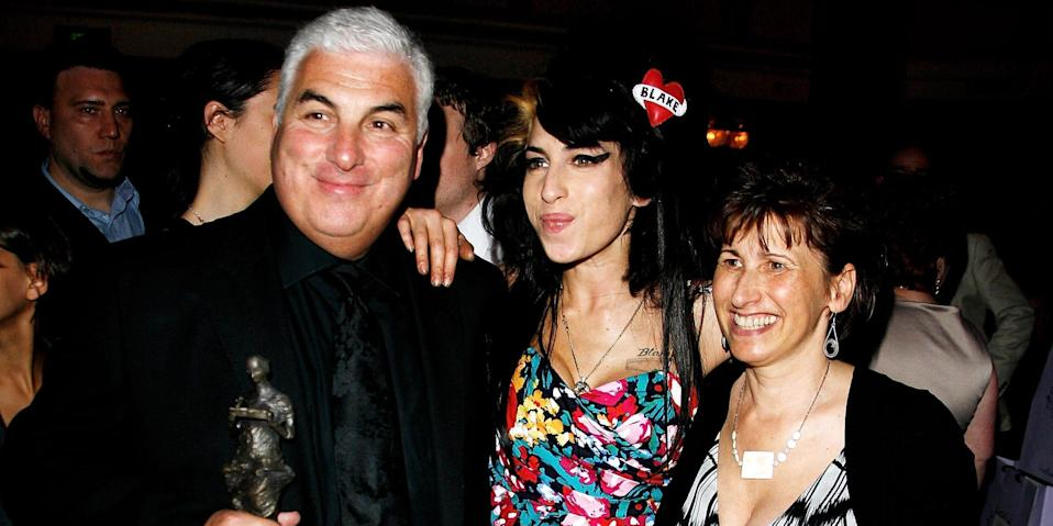 Amy Winehouse and family