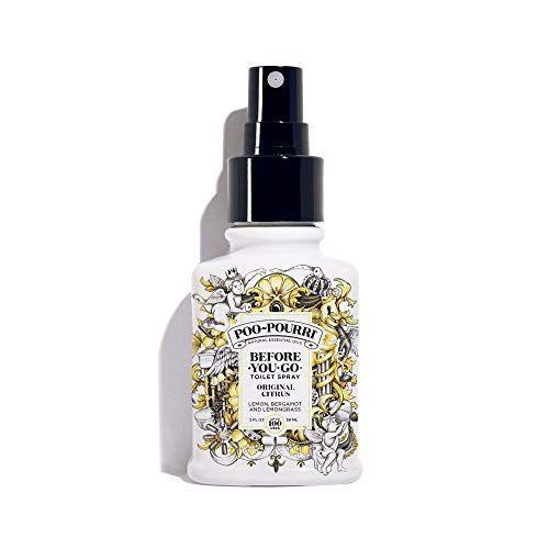 """<p><strong>Poo-Pourri</strong></p><p>amazon.com</p><p><strong>$9.99</strong></p><p><a href=""""https://www.amazon.com/dp/B0108XRDJE?tag=syn-yahoo-20&ascsubtag=%5Bartid%7C2141.g.30025627%5Bsrc%7Cyahoo-us"""" rel=""""nofollow noopener"""" target=""""_blank"""" data-ylk=""""slk:Shop Now"""" class=""""link rapid-noclick-resp"""">Shop Now</a></p><p>The family will be glad they have a bottle of this at the ready before sitting close together to watch holiday movies! Because when that afternoon cup of coffee settles in... </p>"""