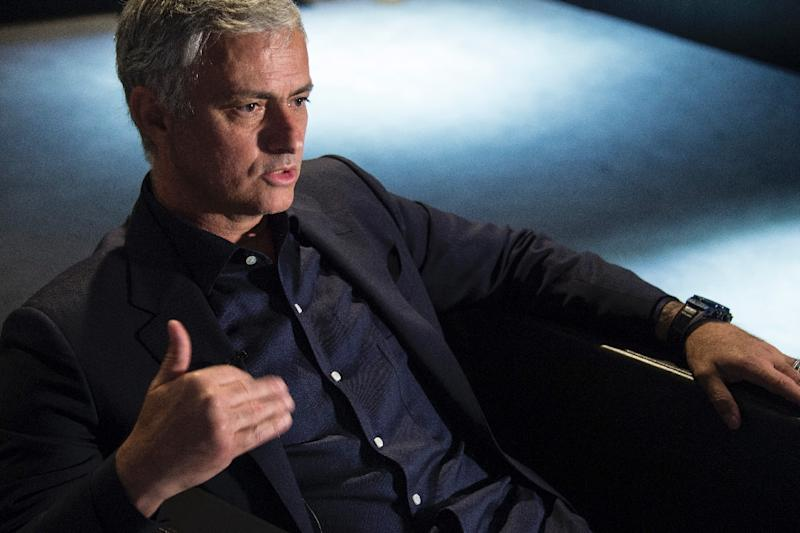 Jose Mourinho has won league titles in Portugal, Spain, Itlay and England (AFP Photo/SEBASTIEN BOZON)