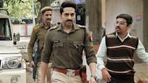 In a film for the ages, Ayushmann plays Ayan Ranjan, an upper-caste elite who navigates the complexities of caste violence and dirty politics in rural Uttar Pradesh. The actor brilliantly portrays the confusions of being a freshly minted IPS officer coming face to face with the ugliness of caste hierarchy and recognizing his privilege in the process.