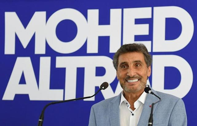 Montpellier rugby club president Mohed Altrad (AFP Photo/SYLVAIN THOMAS)