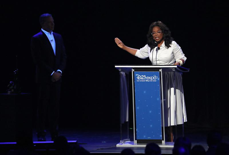 Oprah's relationship with Weinstein highlighted amid presidential rumours