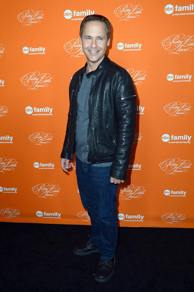 "Chad Lowe arrives at the screening of ABC Family's ""Pretty Little Liars"" Special Halloween Episode at Hollywood Forever Cemetery on October 16, 2012 in Hollywood, California."