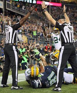 Replacement officials make conflicting calls