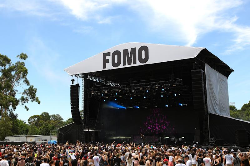 FOMO Festival at The Crescent, Parramatta Park, on January 8, 2017 in Sydney, Australia.