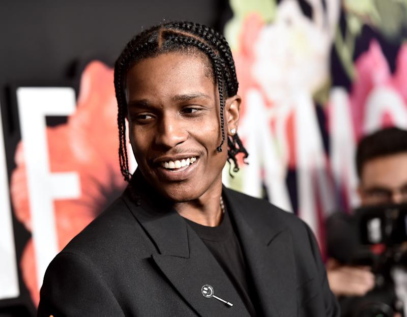 Rapper A$AP Rocky says he is a sex addict