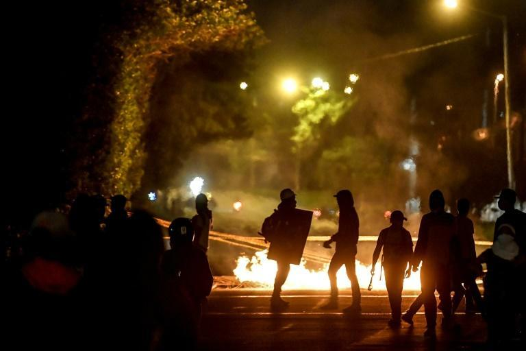 Clashes between police and protesters have resulted in at least 42 deaths -- including one police officer -- and more than 1,500 injuries according to official figures