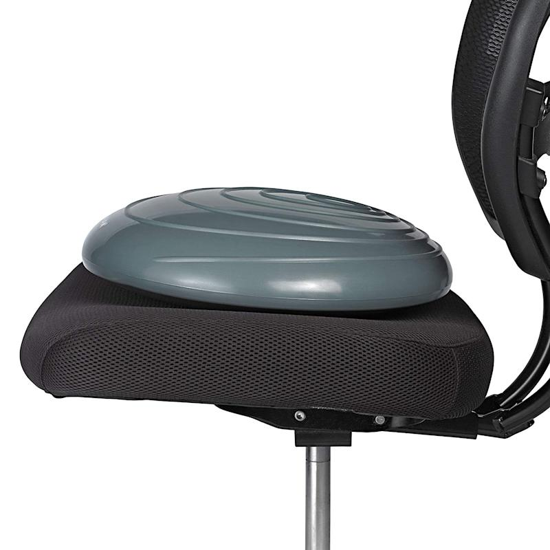 Gaiam Balance Disc Wobble Cushion Stability Core Trainer. (Photo: Amazon)