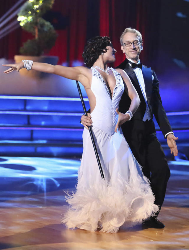 """Sharna Burgess and Andy Dick perform on """"Dancing With the Stars."""""""