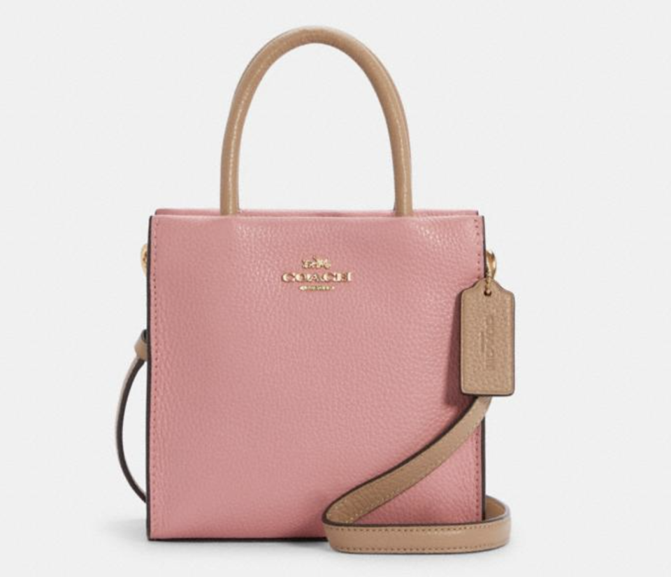 Mini Cally Crossbody In Colorblock. Foto: Coach Outlet