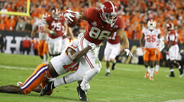 Like most young football players nowadays, O. J. Howard likes to play Madden in his downtime.