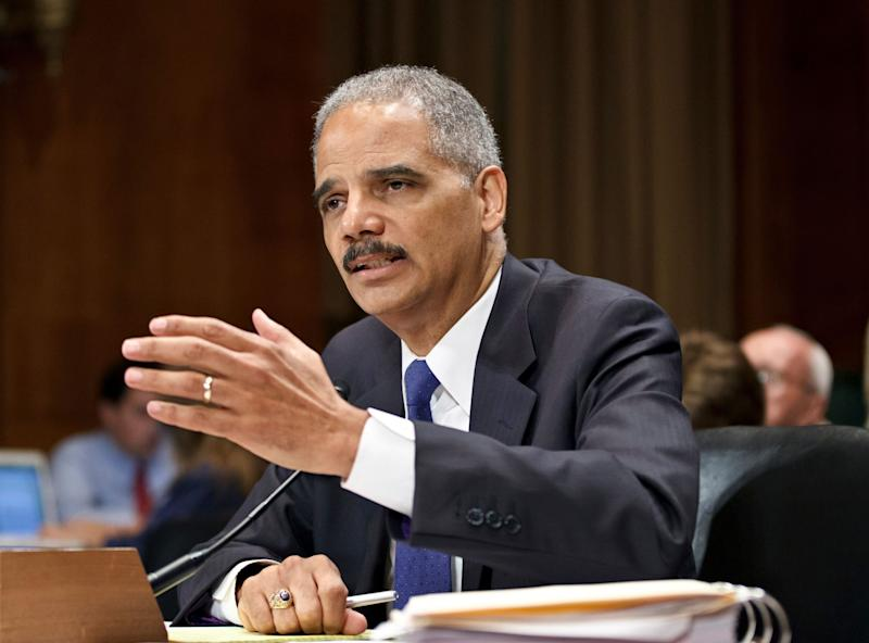 Attorney General Eric Holder testifies June 12, 2012, on Capitol Hill in Washington.