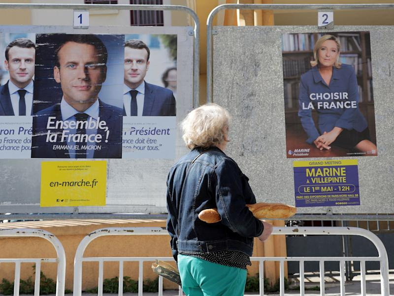 France goes to the polls for the second round of voting to choose a new president on Sunday: Reuters