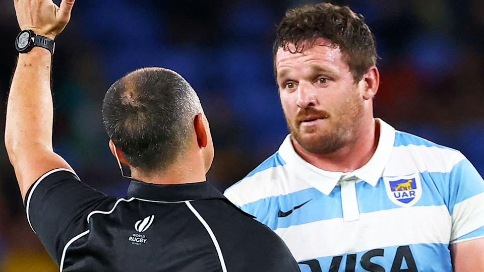 Julian Montoya quipped that the Pumas were treated well in Australia 'sometimes' after their loss to the Wallabies.