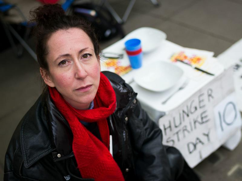 Petra Metzger, 37, is an Extinction Rebellion activist and a lecturer in art and design at Central St Martins: Extinction Rebellion