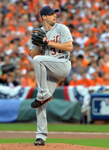 Max Scherzer, 30, won 70 games for the Detroit Tigers over the past four seasons. (USAT)