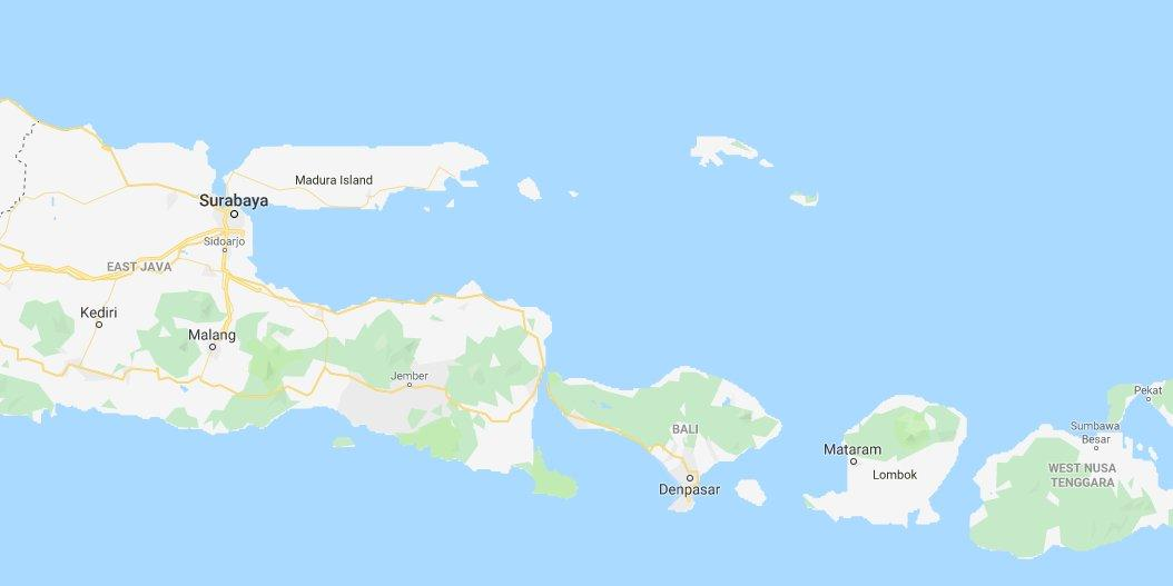 6 0 magnitude earthquake strikes near Indonesia's popular tourist