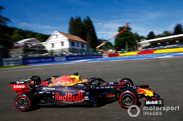 """Max Verstappen, Red Bull Racing RB15 <span class=""""copyright"""">Andy Hone / LAT Images</span>"""