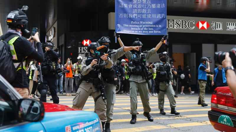 Chinese legislators endorse Hong Kong national security law