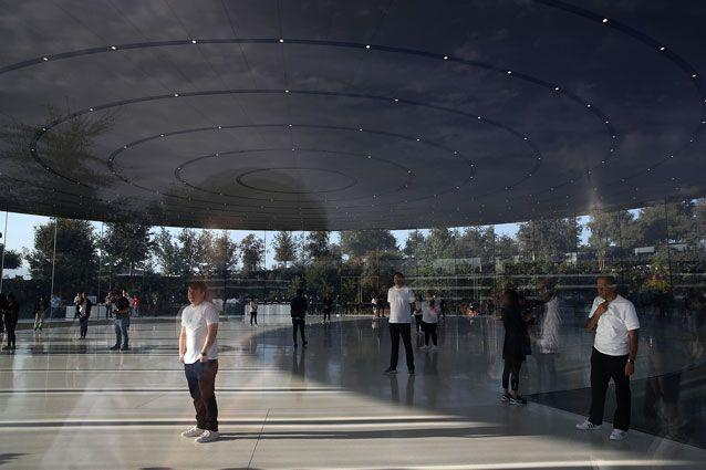 The Steve Jobs theatre in Apple Park. Source: Getty Images