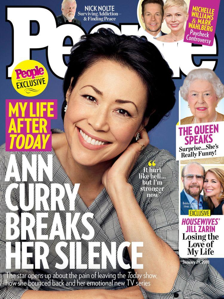 Ann Curry on the cover of PEOPLE