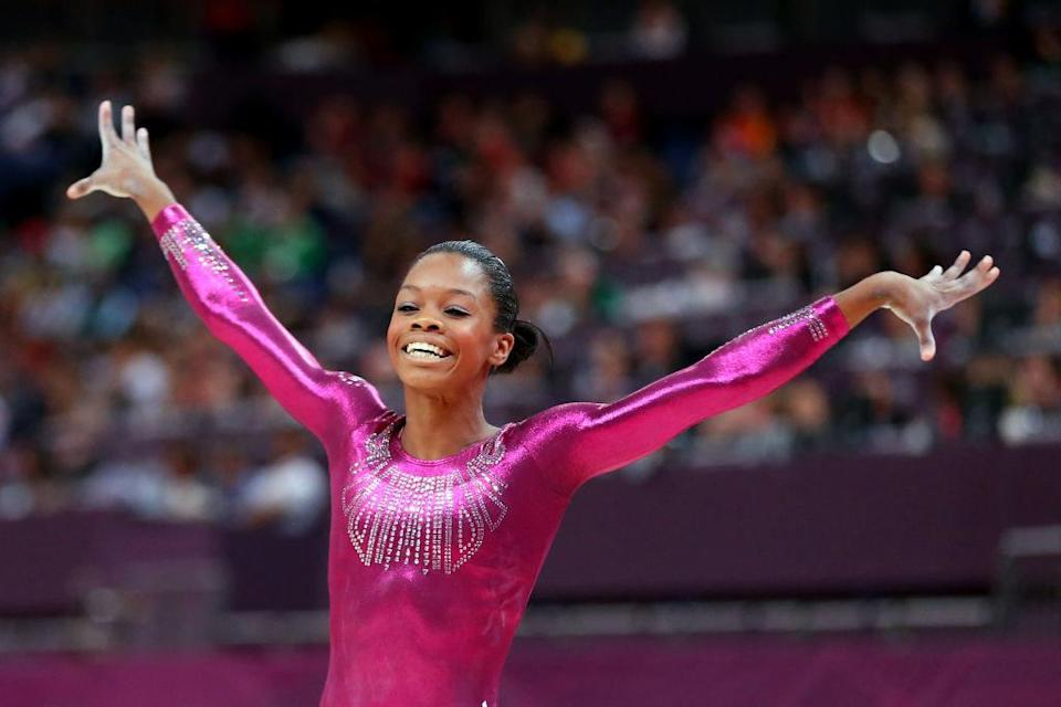 Gabby smiling after landing a move