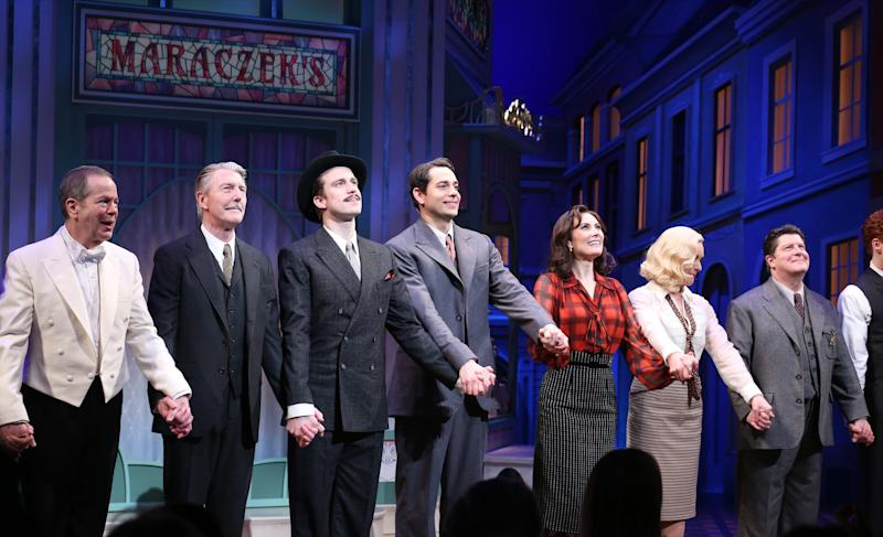 """The Broadway cast of the 2016 revival of """"She Loves Me."""""""