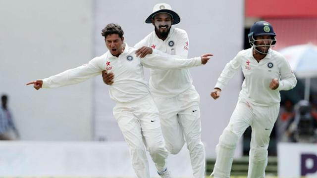 Steve Smith continued his magnificent form, but India enjoyed the better of day one in Dharamsala as Virat Kohli's replacement excelled.