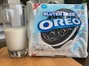 <p>At first glance, the high-def cookie on the packaging caught my eye, and I resisted just long enough to pour myself a glass of milk. The pack is notably smaller than I remember, which may just be because I haven't held a regular pack of Oreos in a while, but I definitely felt shortchanged a few cookies.</p>