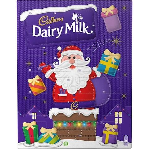 Cadbury Dairy Milk Advent Calendar - Credit: Cadbury