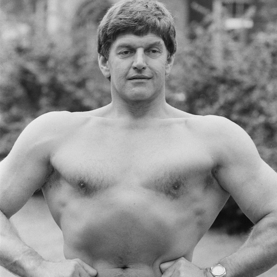 Body builder Prowse in 1981 - Hulton Archive