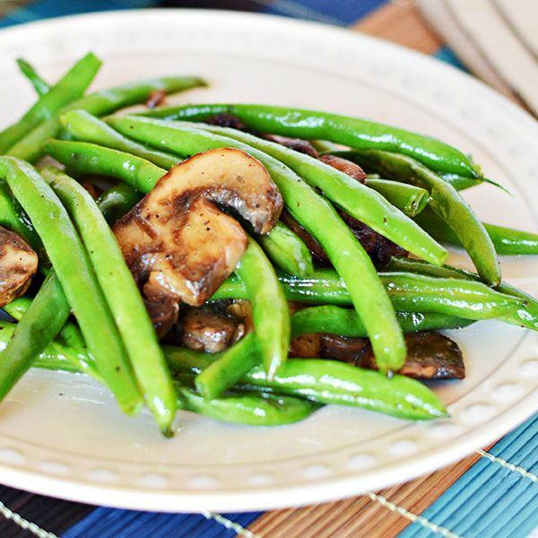 """<p>Though insanely simple—just toss together green beans, mushrooms, and butter—this summer side is perfectly fresh and tasty. </p><p><a href=""""https://homecookingmemories.com/easy-green-beans-and-mushrooms-recipe/"""" rel=""""nofollow noopener"""" target=""""_blank"""" data-ylk=""""slk:Get the recipe."""" class=""""link rapid-noclick-resp"""">Get the recipe. </a></p>"""